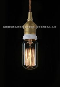 St64 Carbon Filament Edison Vintage Bulb E22/B22 pictures & photos