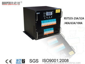 63AMP 380VAC Three Phase 3p Rack Automatic Transfer Switch for Power Supply pictures & photos