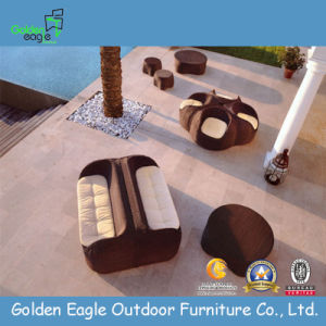 Leisure Outdoor Wicer Rattan Sofa Set
