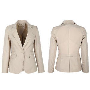 Fantasy Black Suit Jacket for Women of Tr pictures & photos