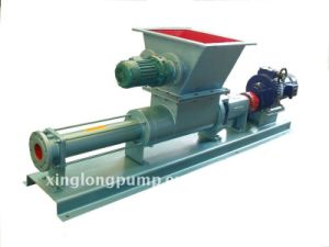 Xinglong Cavity Progressive Single Screw Pump with a Infeed Screw for High Viscosity Liquid pictures & photos
