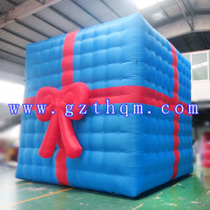 Outdoor Decorative Christmas Gift Box Model/Large Commercial Christmas Decoration Inflatables pictures & photos