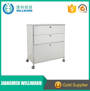 Customizable Metal Storage Display Movable File Cabinet pictures & photos
