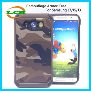 Camouflage Armor Protective Phone Cases for Samsung J7/J5/J3 pictures & photos