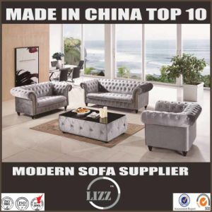 2017 Newest Living Room & Hotel Chesterfield with Fabric (LZ UK) pictures & photos