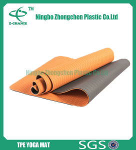 Eco-Friendly TPE Yoga Mat Double Textures TPE Yoga Mat pictures & photos