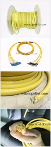 Indoor Optical Fiber Cable Breakout PVC/LSZH Colored Singlemode/Multimode Fiber Cable pictures & photos