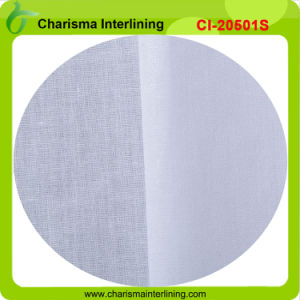 100% Cotton Woven Shirt Collar Fusing Interlining 20501s pictures & photos
