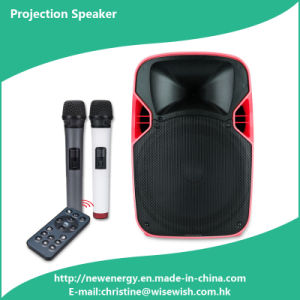 Professional Plastic Speaker Box PA Speaker - Projector pictures & photos
