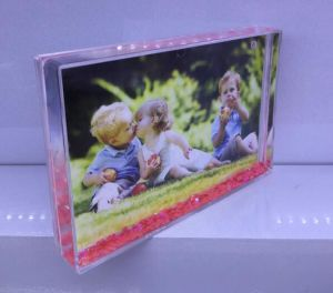 Bulit in Liquid Photo Frame Plastic Photo Frame Promotion Gift pictures & photos