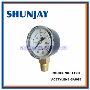 Acetylene Gauge for Refrigeration & Plumbing Small Tanks