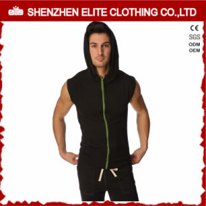 Custom Bodybuilding Gym Men Sleeveless Hoodie (ELTHSJ-1111) pictures & photos