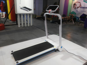 Mini Mechanical Fitness Running Machine Treadmill pictures & photos