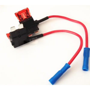 in-Line Car Atc/ATO Blade Fuse Holder Waterproof 10AWG Upto 40A 12V/24V/32V DC pictures & photos