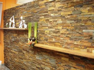 Multicolor Slate Stone Panel for Wall Cladding pictures & photos