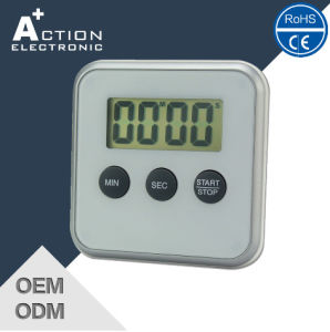 LED Countdown Digital Key Button Timer for Kitchen pictures & photos