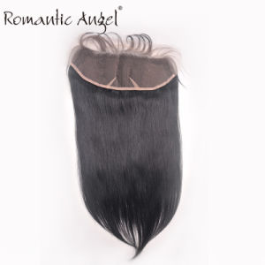 Moresoo Lace Frontal Closure Brazillian Virgin Hair Straight 100% Human Hair 13*4 Inch pictures & photos