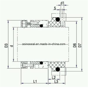 Mechanical Seals China Manufacturer for Flowserve RO pictures & photos