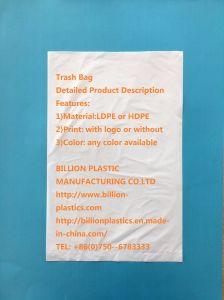 HDPE Plastic Food Flat Bag Bread Packing Bag Garden Bag Garbage Bag Trash Bag pictures & photos