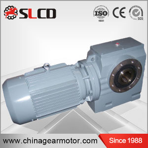 S Series High Efficiency Hollow Shaft Helical Worm Reductor Motor pictures & photos