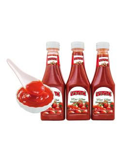 Tomato Ketchup 340g Squeeze Bottle Tomato Sauce pictures & photos