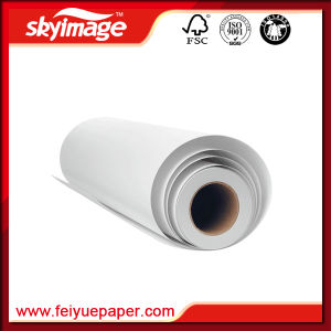 Anti-Crul Eliminate Immigration 105GSM 914mm*36inch Full Sticky Sublimation Transfer Paper for Sportswear pictures & photos