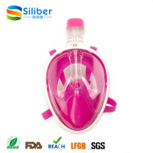 Full View Snorkeling Mask with Free Breathing Snorkel Goggle