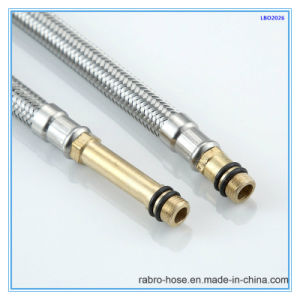 Stainless Steel Braided Faucet Flexible Hose with Good EPDM Inner pictures & photos