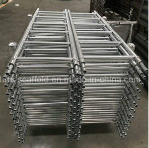 Steel Ringlock Scaffolding Ladder with HDG pictures & photos