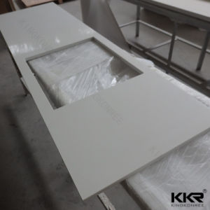Manufacturer Customized Artificial Stone Bench Top Kitchen Counertop pictures & photos