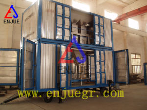 Containerized Weighing and Bag Filling Machine with Rubble Tire pictures & photos