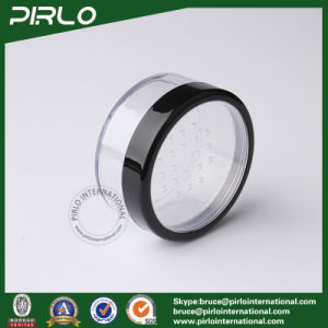 20g 30g Plastic Powder Jar with Sifter Cosmetic Loose Powder Jar pictures & photos