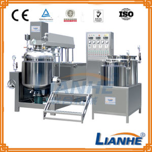 Vacuum Homogenizing Emulsifying Mixer with Hydraulic Lifting System pictures & photos