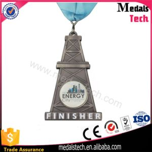 Tower Shape Antique Silver 3D Finisher Medals for Half Marathon pictures & photos