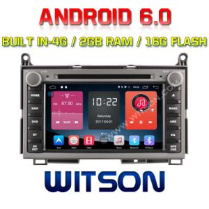 Witson Quad-Core Android 6.0 Car DVD Player for Toyota Venza 2g RAM Bulit in 4G 16GB ROM pictures & photos