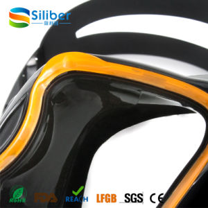 China Diving Mask Tempered Glass Scuba Diving Equipment Liquid Silicone Diving Mask pictures & photos