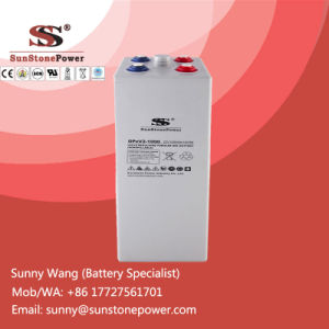 Deep Cycle Gel Solar Batteries 2V 1000ah Opzv Battery pictures & photos