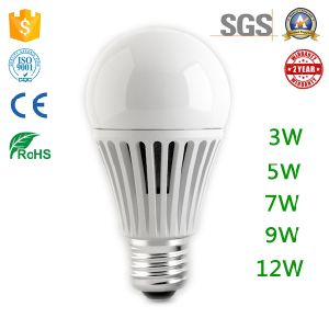 Flameless PBT Plastic House Aluminum Heat Sink LED Bulb for Sell pictures & photos