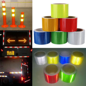 China Wholesale PVC Self Adhesive Reflective Safety Caution Tape (C3500-OX) pictures & photos