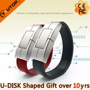 Custom Logo Leather Bracelet Gift USB Flash Drive (YT-5111) pictures & photos
