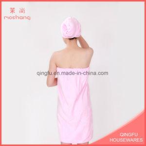 Wholesale Promotion Gift Coral Fleece Bath Towel Set pictures & photos