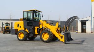Strong Articulated 4 Wheel Drive Building Loader Gem938 for Sale pictures & photos