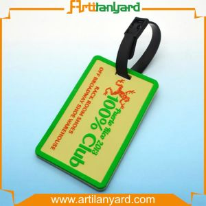 Hot Sale Colorful Leather Baggage Tag pictures & photos
