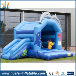 2016 Hot Inflatable Bouncer with Slide for Kids pictures & photos