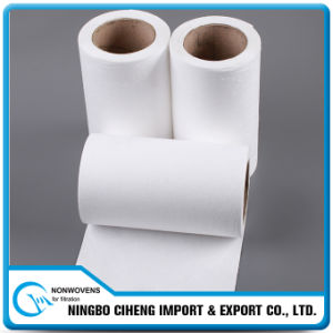 China Manufacturer PP Nonwoven White HEPA Car Air Filter Paper Rolls pictures & photos