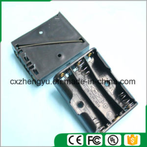 3AA Battery Holder with Contact Pin pictures & photos