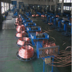 Upward Continuous Casting System for Oxygen-Free Copper Rod D pictures & photos