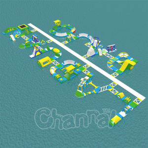 New Design Air Tight Water Games Inflatable Water Park for Sale pictures & photos