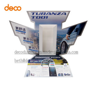 Supermarket Paper Display Advertising Standee for Display Product pictures & photos