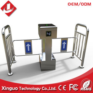 Automatic Swing Barrier for Market Sidewalk pictures & photos